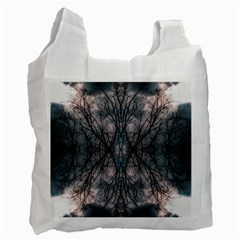 Storm Nature Clouds Landscape Tree Recycle Bag (Two Side)