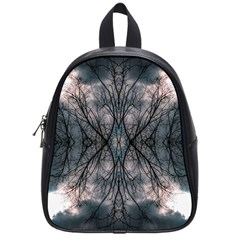 Storm Nature Clouds Landscape Tree School Bags (small)