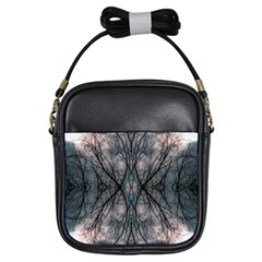 Storm Nature Clouds Landscape Tree Girls Sling Bags