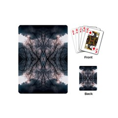 Storm Nature Clouds Landscape Tree Playing Cards (mini)