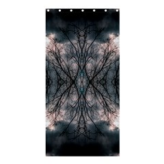 Storm Nature Clouds Landscape Tree Shower Curtain 36  x 72  (Stall)