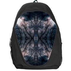 Storm Nature Clouds Landscape Tree Backpack Bag