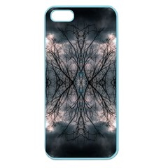 Storm Nature Clouds Landscape Tree Apple Seamless iPhone 5 Case (Color)