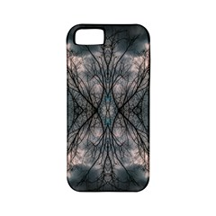 Storm Nature Clouds Landscape Tree Apple Iphone 5 Classic Hardshell Case (pc+silicone)