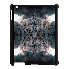 Storm Nature Clouds Landscape Tree Apple Ipad 3/4 Case (black)