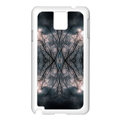 Storm Nature Clouds Landscape Tree Samsung Galaxy Note 3 N9005 Case (white)