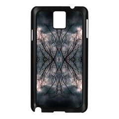 Storm Nature Clouds Landscape Tree Samsung Galaxy Note 3 N9005 Case (Black)