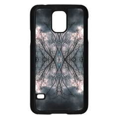 Storm Nature Clouds Landscape Tree Samsung Galaxy S5 Case (black)