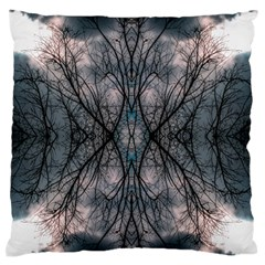Storm Nature Clouds Landscape Tree Standard Flano Cushion Case (one Side)