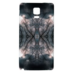 Storm Nature Clouds Landscape Tree Galaxy Note 4 Back Case