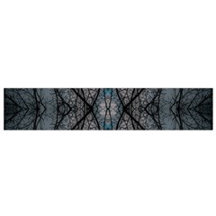 Storm Nature Clouds Landscape Tree Flano Scarf (Small)
