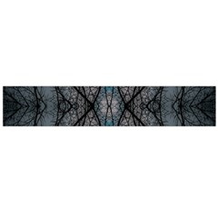 Storm Nature Clouds Landscape Tree Flano Scarf (Large)