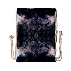Storm Nature Clouds Landscape Tree Drawstring Bag (small)