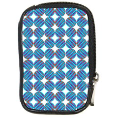 Geometric Dots Pattern Rainbow Compact Camera Cases