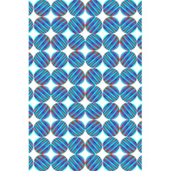Geometric Dots Pattern Rainbow 5 5  X 8 5  Notebooks