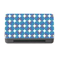 Geometric Dots Pattern Rainbow Memory Card Reader With Cf