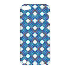Geometric Dots Pattern Rainbow Apple iPod Touch 5 Hardshell Case
