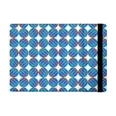 Geometric Dots Pattern Rainbow Apple Ipad Mini Flip Case