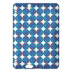 Geometric Dots Pattern Rainbow Kindle Fire HDX Hardshell Case