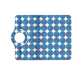 Geometric Dots Pattern Rainbow Kindle Fire Hd (2013) Flip 360 Case
