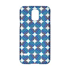 Geometric Dots Pattern Rainbow Samsung Galaxy S5 Hardshell Case