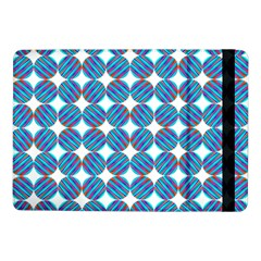 Geometric Dots Pattern Rainbow Samsung Galaxy Tab Pro 10 1  Flip Case