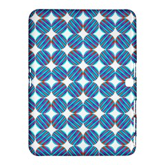 Geometric Dots Pattern Rainbow Samsung Galaxy Tab 4 (10.1 ) Hardshell Case