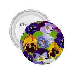 Spring Pansy Blossom Bloom Plant 2 25  Buttons