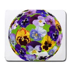Spring Pansy Blossom Bloom Plant Large Mousepads