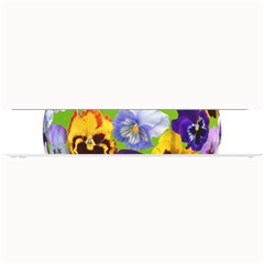 Spring Pansy Blossom Bloom Plant Small Bar Mats