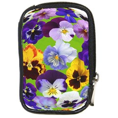 Spring Pansy Blossom Bloom Plant Compact Camera Cases