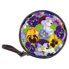 Spring Pansy Blossom Bloom Plant Classic 20 Cd Wallets