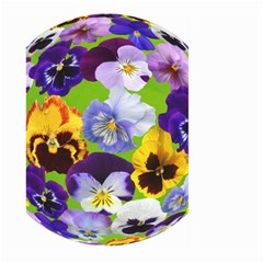 Spring Pansy Blossom Bloom Plant Large Garden Flag (Two Sides)