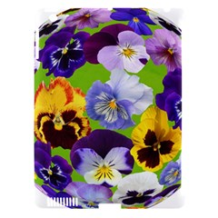 Spring Pansy Blossom Bloom Plant Apple Ipad 3/4 Hardshell Case (compatible With Smart Cover)