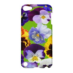 Spring Pansy Blossom Bloom Plant Apple Ipod Touch 5 Hardshell Case