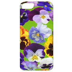 Spring Pansy Blossom Bloom Plant Apple Iphone 5 Classic Hardshell Case
