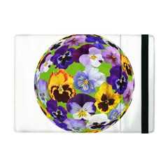 Spring Pansy Blossom Bloom Plant Apple Ipad Mini Flip Case