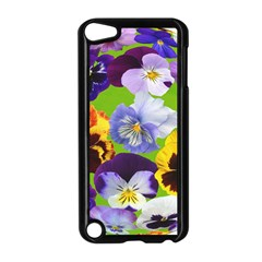 Spring Pansy Blossom Bloom Plant Apple iPod Touch 5 Case (Black)