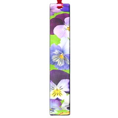 Spring Pansy Blossom Bloom Plant Large Book Marks