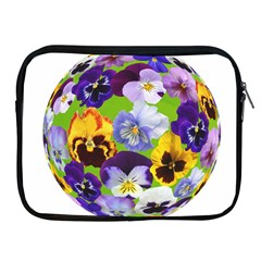 Spring Pansy Blossom Bloom Plant Apple Ipad 2/3/4 Zipper Cases
