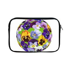 Spring Pansy Blossom Bloom Plant Apple Ipad Mini Zipper Cases