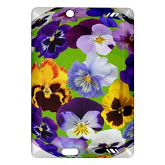 Spring Pansy Blossom Bloom Plant Amazon Kindle Fire HD (2013) Hardshell Case