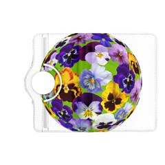 Spring Pansy Blossom Bloom Plant Kindle Fire Hd (2013) Flip 360 Case