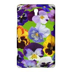 Spring Pansy Blossom Bloom Plant Samsung Galaxy Tab S (8 4 ) Hardshell Case