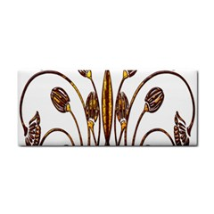 Scroll Gold Floral Design Cosmetic Storage Cases