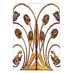 Scroll Gold Floral Design Flap Covers (L)