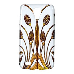 Scroll Gold Floral Design Galaxy S4 Active