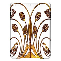 Scroll Gold Floral Design Ipad Air Hardshell Cases