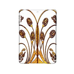 Scroll Gold Floral Design Ipad Mini 2 Hardshell Cases