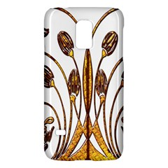Scroll Gold Floral Design Galaxy S5 Mini
